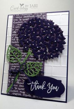 Stampin' Up! Thoughtful Branches Bundle (Card-iology By Jari)