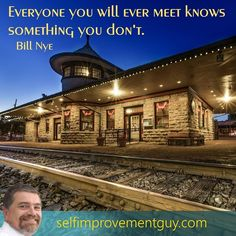 """""""Everyone you will ever meet knows something you don't."""" Let's keep listening…"""