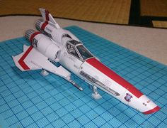 Japanese craftsman creates perfect sci-fi ship replicas using just paper · Viper Mk2
