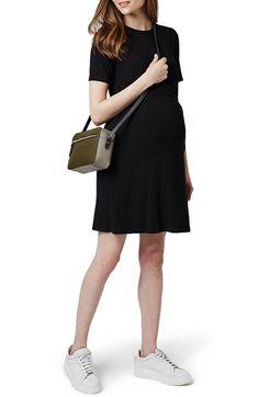 Topshop Belted Maternity T-Shirt Dress