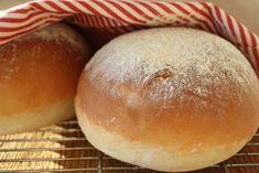 Hvetekake — FAMILIEMAT Cloud Bread, Hamburger, Rolls, Baking, Food, Danish, Scandinavian, Flourless Bread, Buns