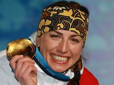 Justyna Kowalczyk, Polish cross country skier, gold medalist at 2010 and 2014 Winter Olympics, World Champion 2009. Complete list of races and victories at http://en.wikipedia.org/wiki/Justyna_Kowalczyk