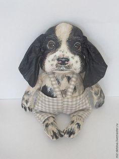 Scented handmade dolls.  Fair Masters - handmade.  Buy spanielya.Avtorskaya Puppy toy.  RESERVE.  Handmade.