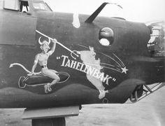 "B-24 LIBERATOR `Tahelenbak"""