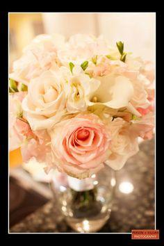 Boston Wedding Photography, Boston Event Photography, Summer Wedding Flowers, Summer Wedding Bouquet, White and Pink Rose Bouquet, Wedding Rose Bouquet, Bridal Bouquet, Classic Elegant Bouquet, Flowers by Victoria Boston, Boston Wedding Florist