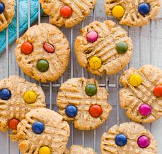 Peanut Butter Candy Cookies