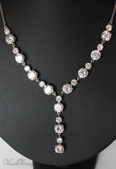 Brilliance Bridal Necklace & Earrings Set by ilovevivid on Etsy, $84.00