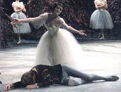 """Carla Fracci, one of the greatest """"Giselles"""" to ever grace the stage"""