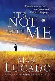 Max Lucado...wonderful book!! So great!