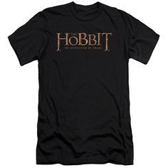 Hobbit/Smaug Logo-Black