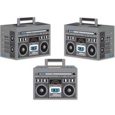 18 inches Inflatable Boom Box, Fun Express 2-Pack