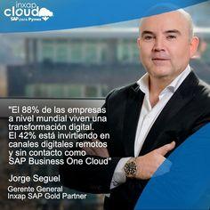 """La adopción de plataformas #Cloud que permitan gestionar a distancia serán la clave en la nueva forma de relacionarnos entre las personas.  . Hoy Inxap puede implementar en su empresa #SAPBusinessOne en la nube el ERP que le permite a usted y su equipo asegurar el crecimiento y la continuidad de operaciones incluso trabajando a distancia implementándose y saliendo """"en vivo"""" en solo 30 días. . . . . . #SAPBusinessOne #SAP #Cloud #Colaboración #Emprendimiento #Comercio #EmpresaInteligente… Instagram, Cloud, Distance, Rigs, People"""