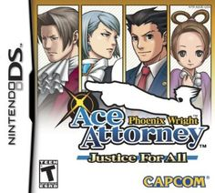 """Finished 5 Aug 2014. Phoenix Wright: Justice For All - I played the first #AceAttorney game about two years ago, and I TOTALLY forgot how long they are! It can be a bit daunting, but I like the fact that these games are technically called """"interactive novels"""", which makes it sound way more sophisticated and productive. The final case was great, though SPECTACULARLY long. I liked the additions of Pearly and Von Karma, and I hope they pop up again in future games. #PhoenixWright #JusticeforAll"""