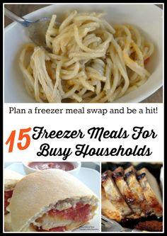 15 Freezer Meals tha