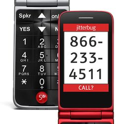 Meet the Jitterbug Flip, our best basic cell phone for seniors. Enjoy the security of a medical alert button with one-touch access to safety experts. T Cell, Used Cell Phones, Cell Phones For Seniors, Button Cell, Best Smartphone, Circuit Board, Flipping, Helpful Hints, Big