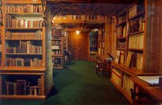 Inside the Somogyi Library in Szeged, Hungary