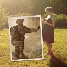 Military maternity