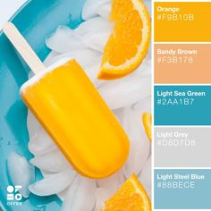 Get Ready for Summer: 25 Beautiful Color Palettes to Inspire You | OFFEO Color Schemes Colour Palettes, Colour Pallette, Color Palate, Color Combos, Summer Color Palettes, Yellow Color Schemes, Orange Color Palettes, Color Yellow, Color Pop