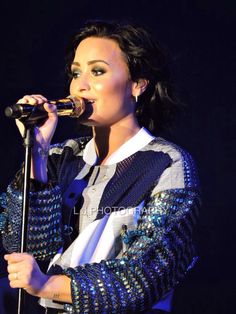 Demi Lovato at the Hordern Pavilion, Sydney, Australia - April 18th #DemiWorldTour