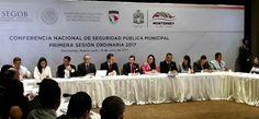 PARTICIPÓ ADÁN VALDIVIA EN LA CONFERENCIA NACIONAL DE SEGURIDAD PÚBLICA MUNICIPAL