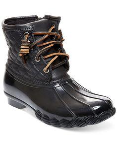 Steve Madden Tillis All Weather Booties - Winter & Rain Boots - Shoes - Macy's