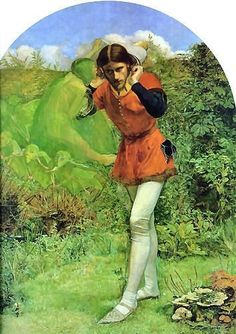 John Everett Millais, Ferdinand Lured by Ariel,