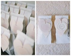 Bridal Shower Favors decorated with hearts - 'Blushing Bride' Essie nailpolish! | CHECK OUT MORE IDEAS AT WEDDINGPINS.NET | #weddings #weddinginspiration #inspirational