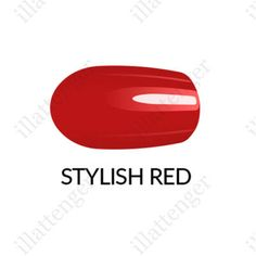 Körömlakk Gel Finish - Stylish Red 11 ml It Is Finished, Make Up, Stylish, Beauty Makeup, Makeup, Maquiagem