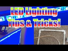 LED Strip Lighting Tips For Gaming & Desk Setups (90-degree Angles & Custom Mounts) - YouTube