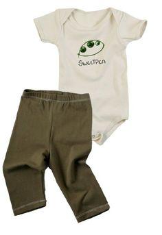 Amazon.com: Kee-Ka Organic Short Sleeve Bodysuit & Legging Set: Cute Little Clothes