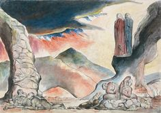 William Blake - Dante - The Falsifiers