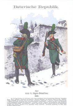 Vol 11 - Pl 18 - Batavische Republik. French Revolution, History Photos, Napoleonic Wars, Reno, Freundlich, Military History, Revolutionaries, Netherlands, Badge