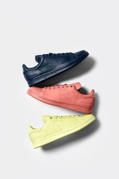 27b82003fc4 Raf Simons x adidas Stan Smith 2016 Spring Collection  The classic  silhouette gets a luxe leather makeover in three sleek