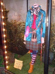 Johnny Depp's Mad Hatter battle costume