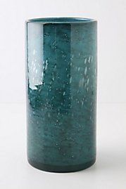 in love with blue...any shade...candle holder $78