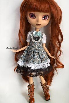 Vestido para muñeca Pullip. de RopitasKawaii en Etsy