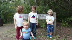 Kandle Kidswear designs are great for girls and boys! This photo was taken during our recent video production session with them at Windmill Run Park in Austin.