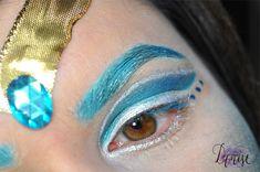 Sailor Neptun inspired makeup by http://icantnude.blogspot.de/2016/04/geschminkt-make-up-inspired-by-sailor.html