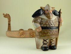 "Swedish ceramist Lisa Larson, ""Odin"""