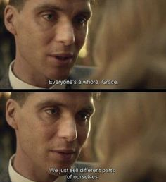 When someone calls you a K a r m a whore Tv Show Quotes, Film Quotes, Pretty Words, Beautiful Words, Beautiful Poetry, Peaky Blinders Quotes, Movie Dialogues, Movie Lines, Quote Aesthetic