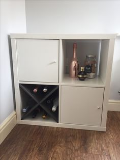IKEA kallax drinks cabinet