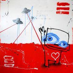 """Saatchi Online Artist Jan-Hein Arens; Painting, """"Piece of heaven"""" #art"""