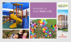 Jewel Water Lilly is designed with colourful and engaging kids play area and activity space.