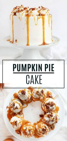 Five Approaches To Economize Transforming Your Kitchen Area This Pumpkin Pie Cake Is An Easy Thanksgiving Dessert That Can Feed A Crowd It Is A Giant And Spectacular Holiday Dinner Party Sweet Treat Will Be Your New Favorite. It Has Three Beautiful Layers Pumpkin Pie Cake, Homemade Pumpkin Pie, Pumpkin Dessert, Pumpkin Recipes, Best Cake Recipes, Cupcake Recipes, Cupcake Cakes, Dessert Recipes, Cupcakes