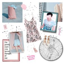 """the stars we steal."" by nostalgicteen ❤ liked on Polyvore featuring DESTIN, H&M, NARS Cosmetics, KEEP ME, Gianvito Rossi, country, magazine, polyvorecommunity, streetfashion and phillester"