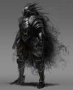 black knight, Morgan Yon on ArtStation at https://www.artstation.com/artwork/black-knight-c1e55bc6-9b7c-4b3c-8c12-3add1cebe338
