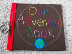 """If you loved the movie """"Up,"""" you'll love this guest book 