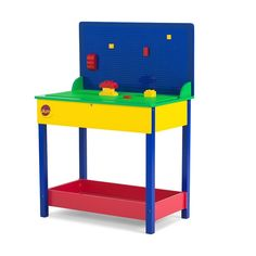 Plum Build-It Wooden Construction Table, Multi-Colored Training Equipment, No Equipment Workout, Wooden Play Kitchen, Large Tray, Play Table, Pull Out Drawers, Baby Gym, Wooden Dollhouse, Working With Children