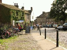 Little village of Grassington    Yorkshire, UK