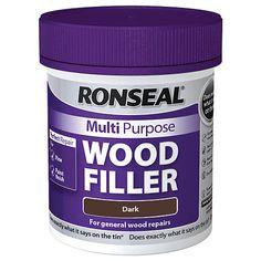 Ronseal Multi Purpose Wood Filler - Dark 250g | Wickes.co.uk